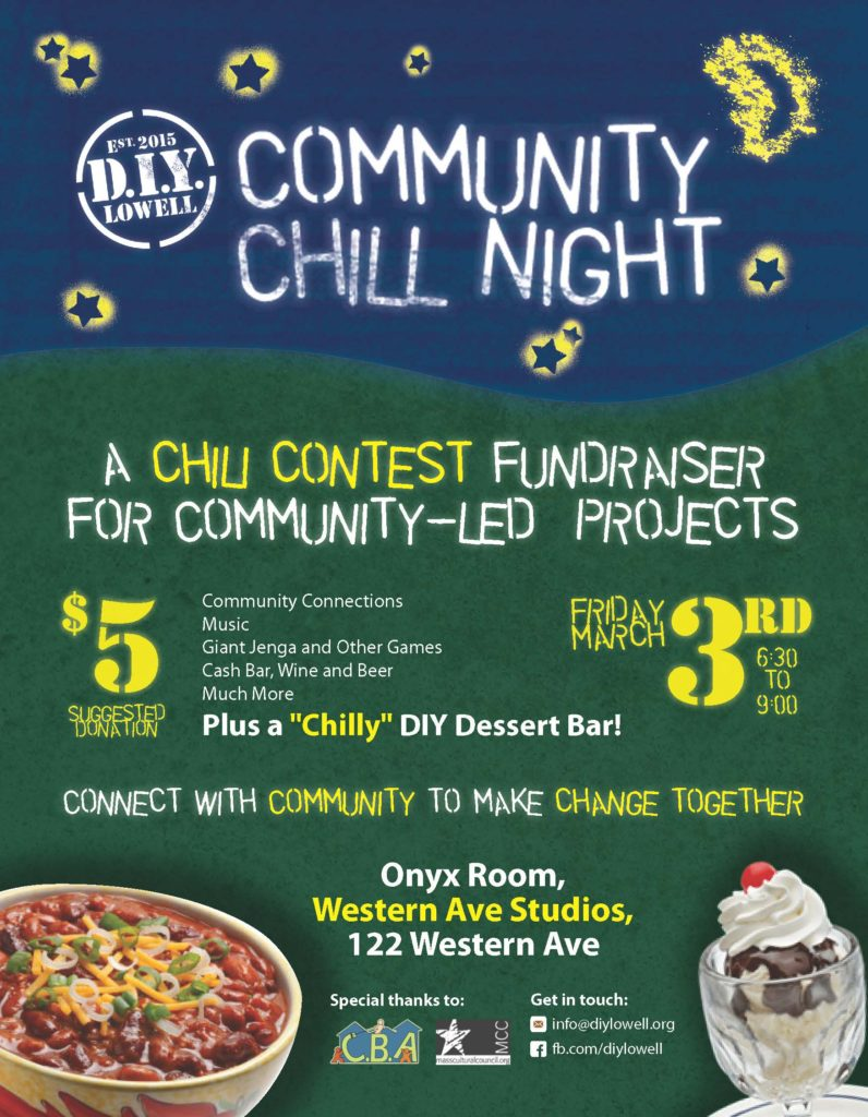 Community Chill Night Flyer