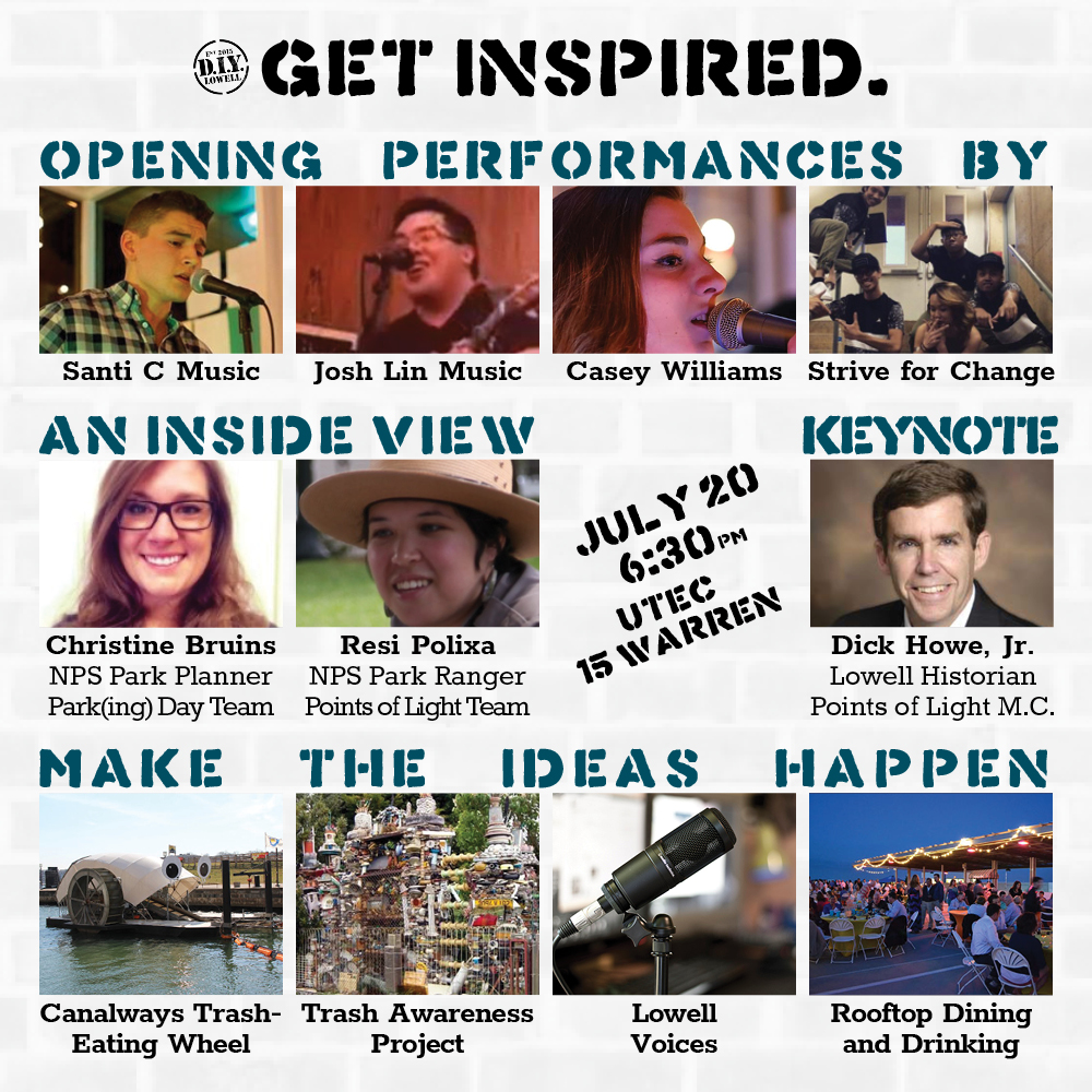 Get inspired: Full program graphic