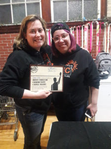 Chili winners UTEC, Photo by Britt Boughner