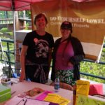 Program Director Emily Ferrara with Co-Founder Aurora Erickson at the 2019 Lowell Pride Festival