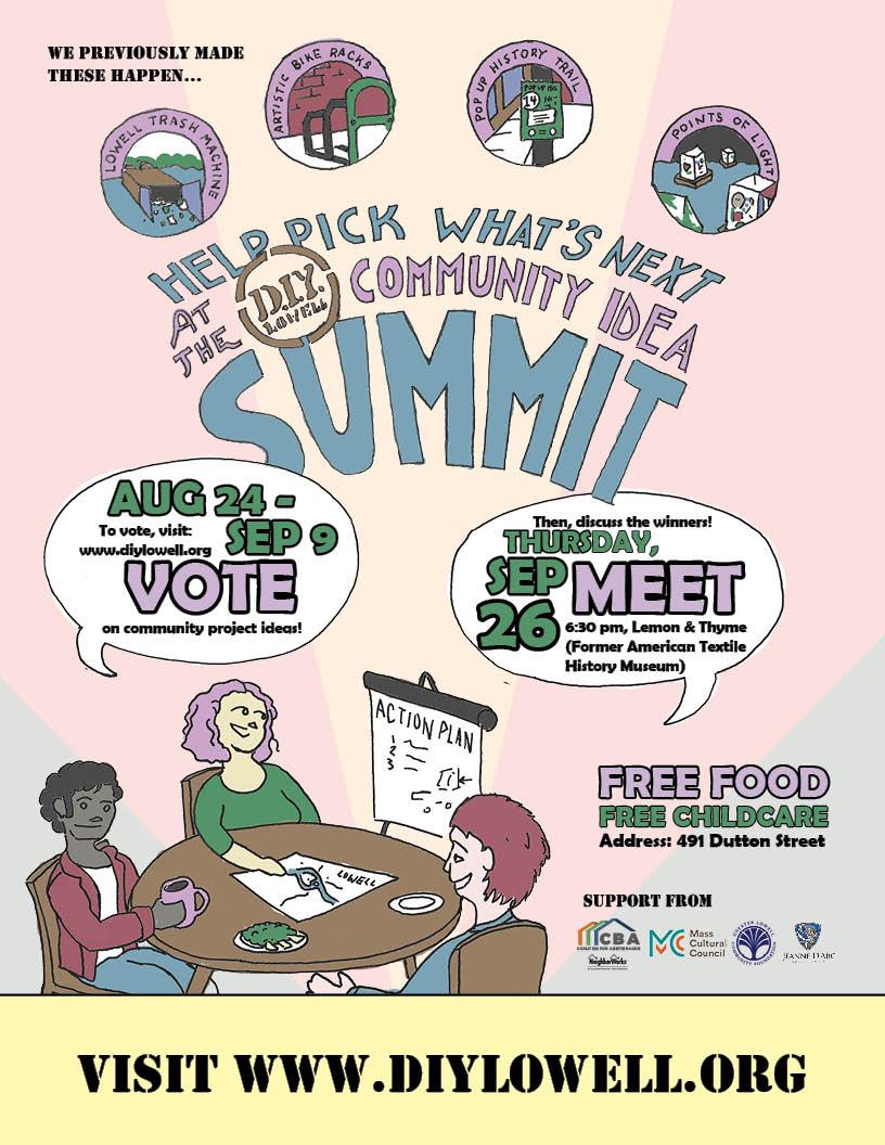 DIY Community Idea Summit Poster