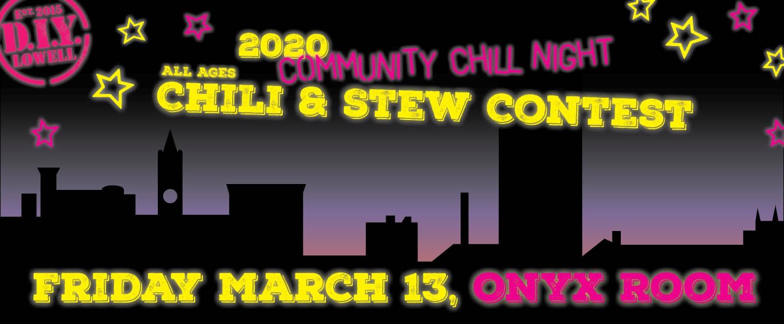 2020 Community Chill Night - Chili and Stew Contest